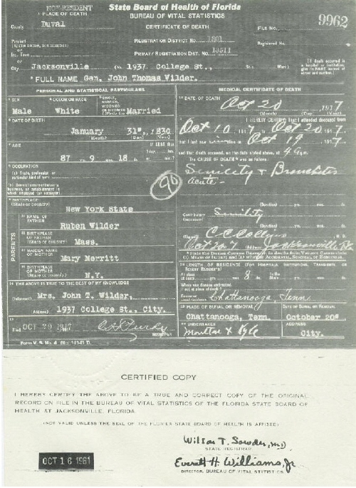 Genealogy Research: What\'s on a Death Certificate?